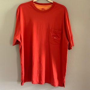 Tommy Bahama Relax L Orange T Shirt Super Soft